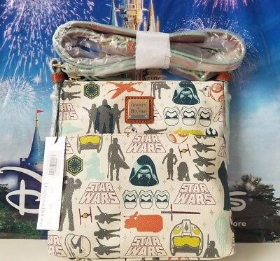"NWT Disney Dooney & Bourke Star Wars Crossbody Kylo Ren BB8 Stormtrooper Bag ""B"""