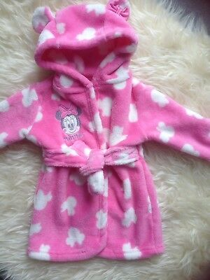 Stunning 'minnie Mouse' 3-6M Pink & White Dress Gown New Wot Low/comb P&p 10P!!