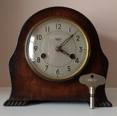 Vintage SMITHS ENFIELD Chiming Mantel Clock - For Restoration or Spare Parts
