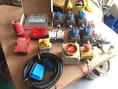 Electrical items, new and used