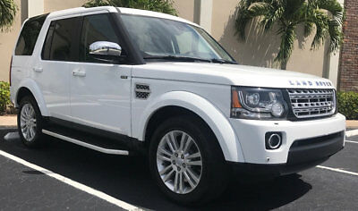 2016 Land Rover LR4 4WD 4dr LUX 2016 LAND ROVER LR4 HSE LUX 4WD SUV ABSOLUTELY IMPECCABLE FACTORY WARRANTY