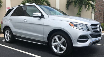 2017 Mercedes-Benz GL-Class GLE 350 4MATIC SUV MERCEDES BENZ GLE 350 4MATIC 4WD SUV ABSOLUTELY IMPECCABLE FACTORY WARRANTY