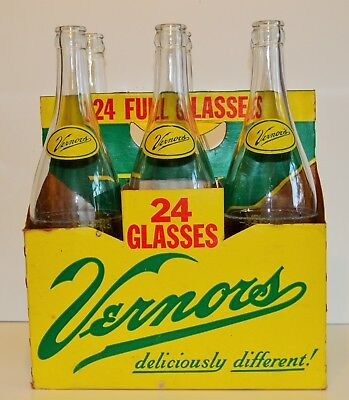"Vernor's Ginger Ale Bottles Featuring ""woody"""