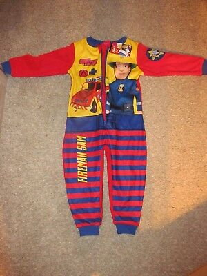 Toddler Fireman Sam Bodysuit