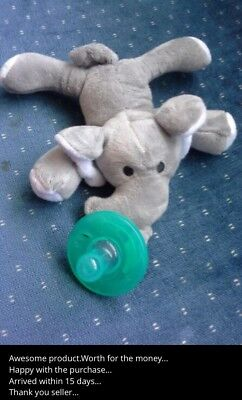 Animal Baby Nipple Infant Wubbanub Silicone Pacifiers with Cuddly Plush 1Pc