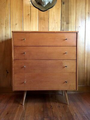 Paul McCobb Tall Chest of Drawers Mid Century Modern