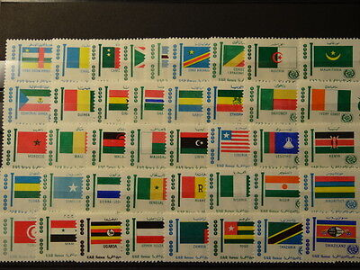 1969 Africa Day Serie Completa Bandiere Nuovi Mnh**