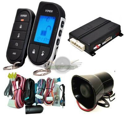 Viper 5706V CAR ALARM WITH REMOTE START AND 2-WAY PAGER NEW VIPER 5706