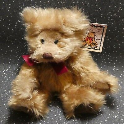 Gregory By Russ Teddy Bear Soft Toy Created By Carol - Lynn Rossel Waugh Tag 8""