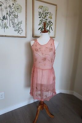 Late 1920s/20s Early 1930s/30s Beaded flapper Dress