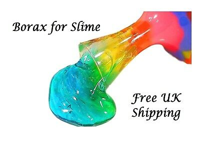 Borax for Slime,   200 Gms  Sodium Tetraborate Decahydrate,    Slime Activator