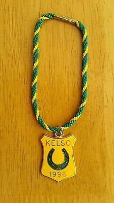 Kelso Annual Members Badge 1996 - Excellent Condition