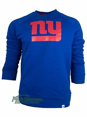 NEW New York Giants NFL Classic Crew Sweatshirt by Majestic Athletic