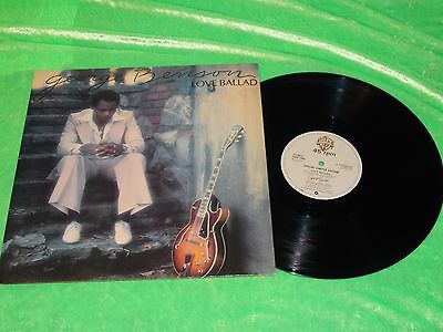 "GEORGE BENSON : Love Ballad - Orig 1979 UK issue Limited edition 12"" single NM"