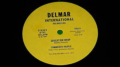 "COMMUNITY PEOPLE : Education wrap - Original US issue 1980 12"" single EX/NM"
