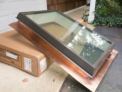 "Skylight for flat roof, 30""x45.5"""