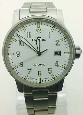 Fortis Flieger Automatic 25 Jewels Swiss Mens Watch (Great Condition) Serviced