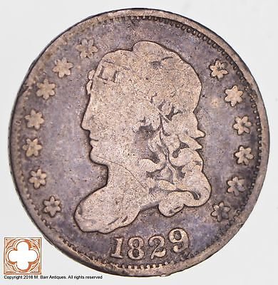 1829 Capped Bust Half Dime LM-12 R6 *2682