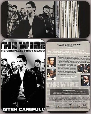 📀📽The Wire - The Complete First Season (DVD, 2004, 5-Disc Set) Like new📽📀