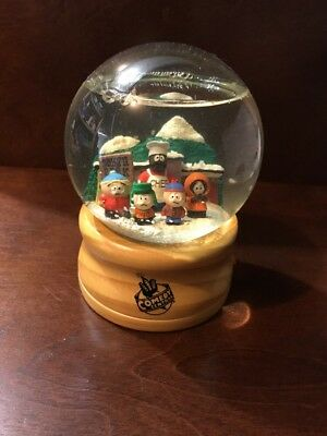 South Park unreleased Comedy Central Employee Only South Park Snowglobe Rare
