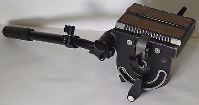 Manfrotto 116 Heavy Duty Fluid Video Head- Bogen 3066 with 116PT Plate + Handle