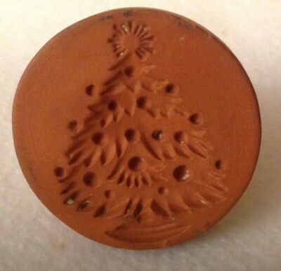 RyCraft Christmas Tree Terra Cotta Cookie and Craft  Stamp