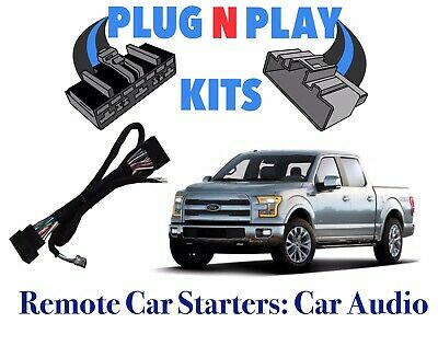 2015-19 F150 100% Plug & Play Car Starter Remote Start
