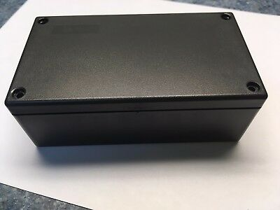 USA RoHS Black Plastic Electronic Project Box Enclosure case 5.3 x 3 x 1.9 inch