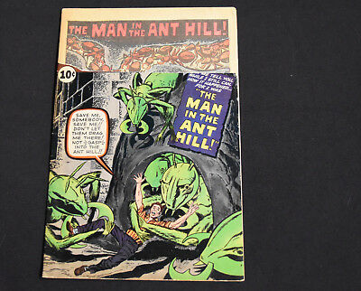 Tales to Astonish #27 1st Appearance of Ant-Man Marvel Unrestored Comic
