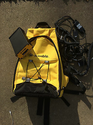 Trimble DGPS GPS receiver - P/N 46090-11 with Backpack and cables