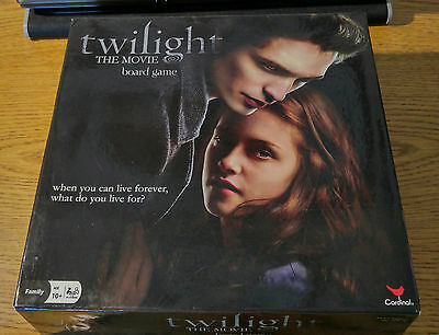 Twilight The Movie Board Game Trivia Vampires Edward Bella Fans Collectible