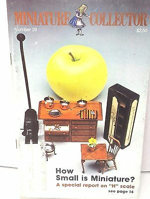 Miniature Collector Dollhouse Magazine H Scale