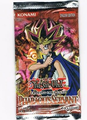 Yugioh Pharaoh's Servant English Edition Booster Pack