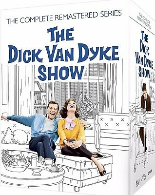 THE DICK VAN DYKE SHOW Complete Remastered Series DVD Season 1 2 3 4 5 (25 Disc)