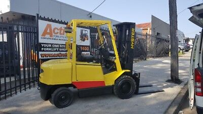 Hyster 3 Ton Diesel Forklift Low Hrs Container Mast 4580mm $13499+GST Negotiable
