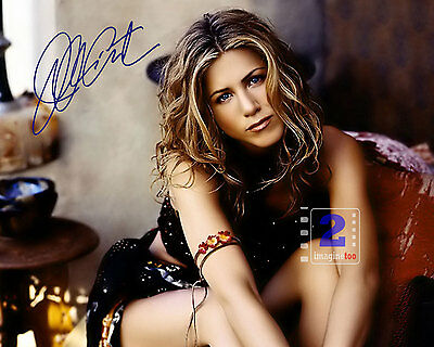 "Jennifer Aniston 10""x 8"" Sexy Signed Color PHOTO REPRINT"
