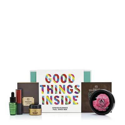 New Vegetarian The Body Shop Feel Good Box First Edition