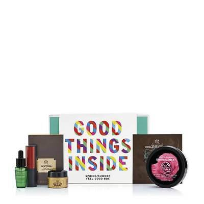 New Vegetarian The Body Shop Gifts Feel Good Box First Edition