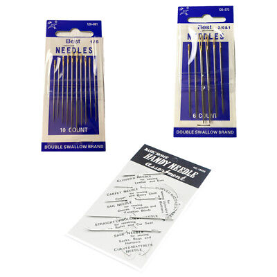 Home Handy Saddlers Harness Needles Leather Hand Sewing 3 Models DIY