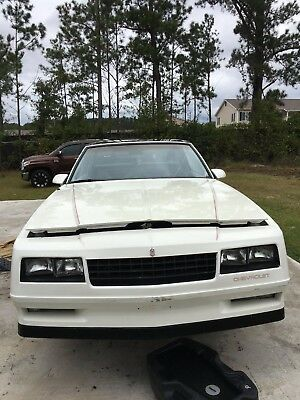 1987 Chevrolet Monte Carlo T-TOP 1987 Monte Carlo SS best restore deal ever, I'm cleaning house, you have it all