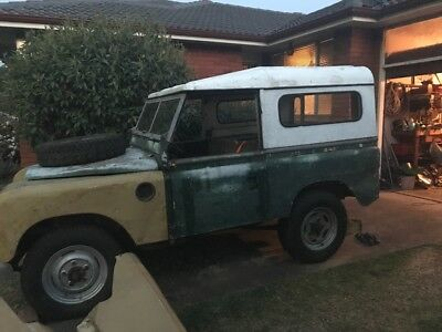 Land Rover Series 2A 1971