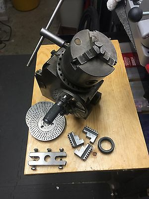 Dividing head maybe a Yuasa 550-030? With Bison 3 Jaw chuck