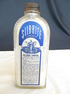 Silbrite Retards Tarnish Advertising Silver Polish