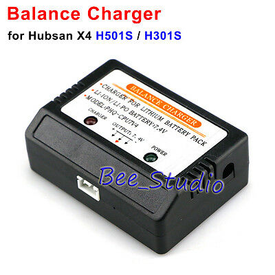7.4V Battery Balance Charger for Hubsan H301S H501S X4 RC Drone Quadcopter Parts