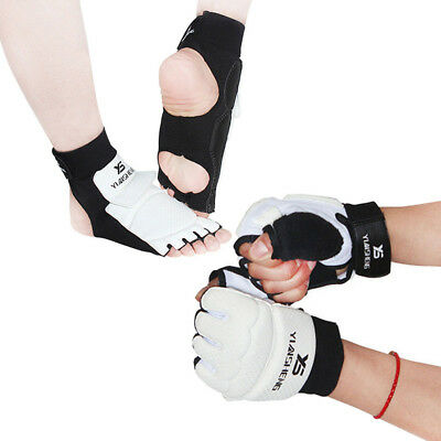 Tae Kwon Do Half Gloves Foot / Hand Protector Martial Arts Sparring Instep Gear