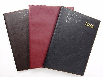 2018 Large Diary - Two Days Diaries Planner New Year Notebook Address Book