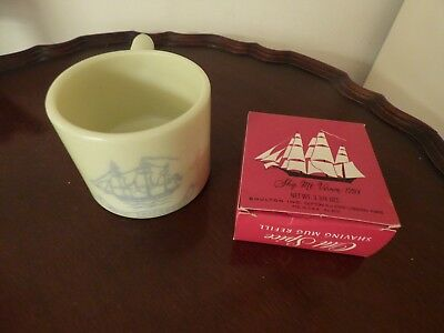 Vintage Used Old Spice Shaving Mug and Refill in Box with Original Wrapping