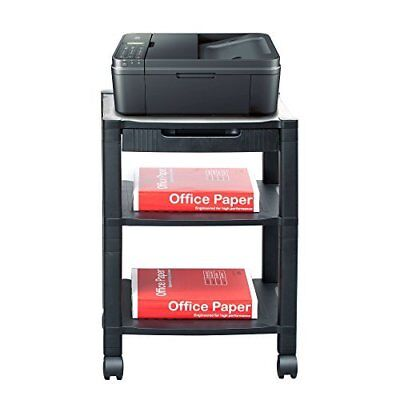 Mind Reader 'Classify' 3 shelf Mobile Printer Cart with cord management