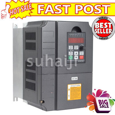 VFD 7.5kw 220V Variable Frequency Drive Inverter 34A 10HP USA