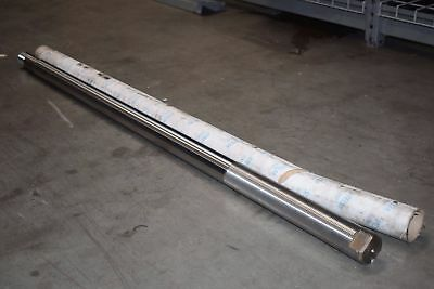 NEW Stelmi 2.000 2'' x 53'' OAL Stainless Steel Shaft Chrome Linear Motion Bar